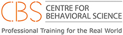 CBS Centre for Behavioral Science. Professional Training for the Real World